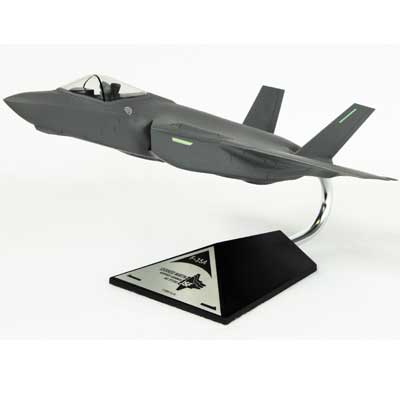 F-35A JSF/CTOL USAF (1:72), TMC Pacific Desktop Airplane Models Item Number CF035A3TR