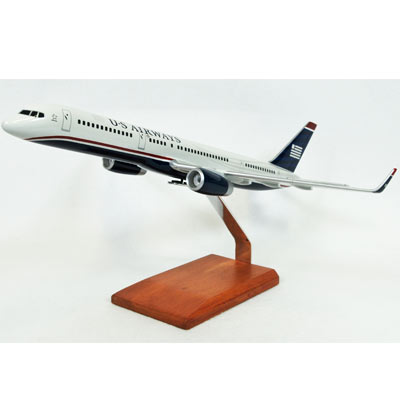B757-200 US Airways (1:100), TMC Pacific Desktop Airplane Models Item Number KB757USATR