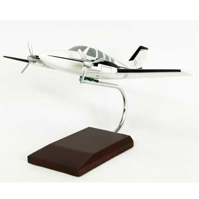 Beechcraft Baron, TMC Pacific Desktop Airplane Models Item Number KBBG58T
