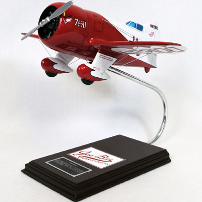 GeeBee R-1 (1:20), TMC Pacific Desktop Airplane Models Item Number KGBTE
