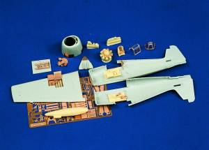 F-6F Hellcat Update Set 1:72, Verlinden Model Kits Item Number VER804
