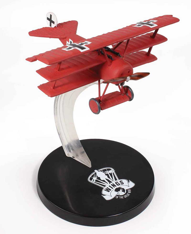"Fokker DR.I, JG I ""The Flying Circus"", Rittmeister Manfred von Richthofen, 1918 (1:72), Wings of the Great War Item Number WW12001"