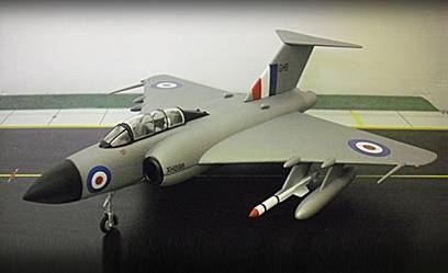Gloster Javelin FAW.Mk 9 No. 11 Squadron, RAF Binbrook (1:72), Sky Guardians Europe Diecast Fighters Item Number SGE72004-04
