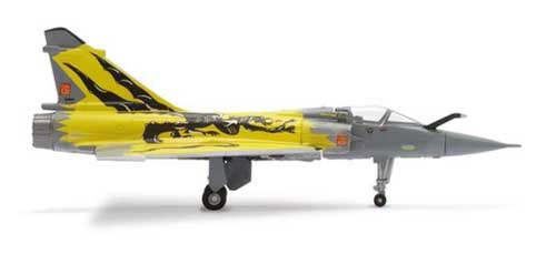 French Air Force Mirage 2000 (1:200), Herpa 1:200 Scale Diecast Airliners Item Number HE552776