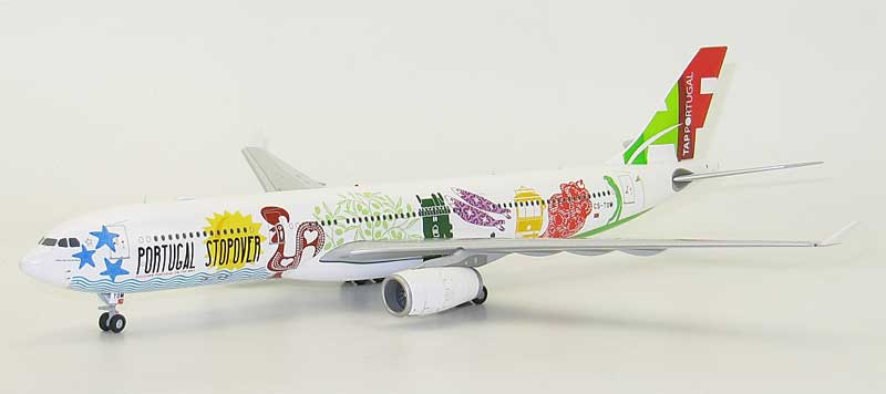 "TAP A330-300 CS-TOW ""Portugal Stopover"" (1:200) - Special Clearance Pricing by JC Wings Diecast Airliners Item: LH2091"