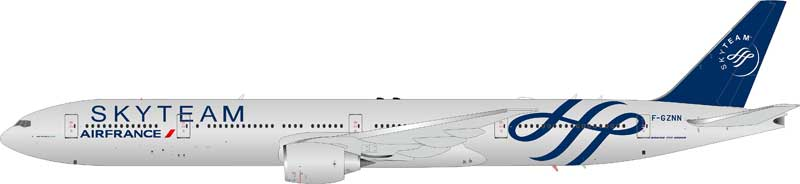 "Air France ""Sky Team"" B777-328/ER F-GZNN (1:200), JFox Model Airliners Item Number JF-777-3-002"