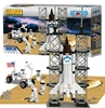 Space Shuttle 330 Piece Construction Toy, Best Lock Item Number BL70301