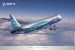 Boeing 767 New Livery Poster, Aviation Art Item Number BP21