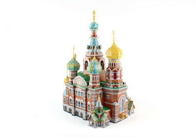Cathedral Of The Resurrection Of Christ 3D Puzzle 233 Pcs