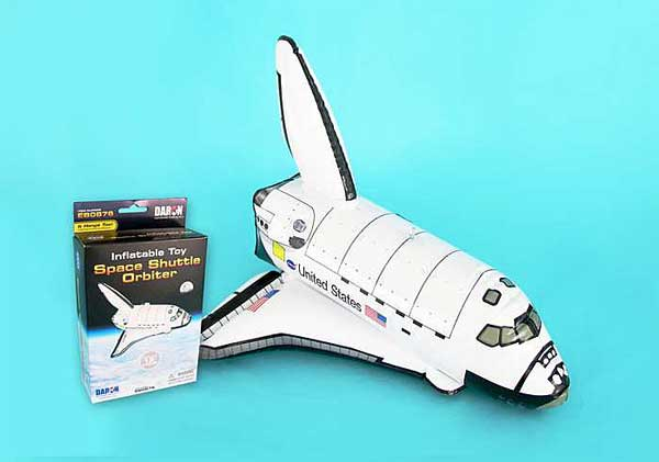 Space Shuttle Inflatible, Daron Toys Item Number EB0876