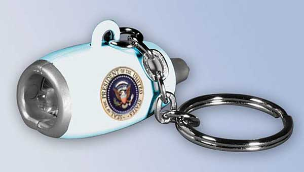 Air Force One Flashlight Engine Keychain