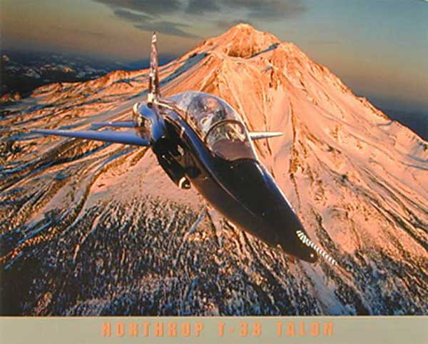 Northrup T-38 Talon Poster, Daron Toys Item Number IM1072