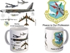 "B-52 Strategic Air Command Coffee Mug ""Peace Is Our Profession"", Pilotwear Item Number MUG411M"