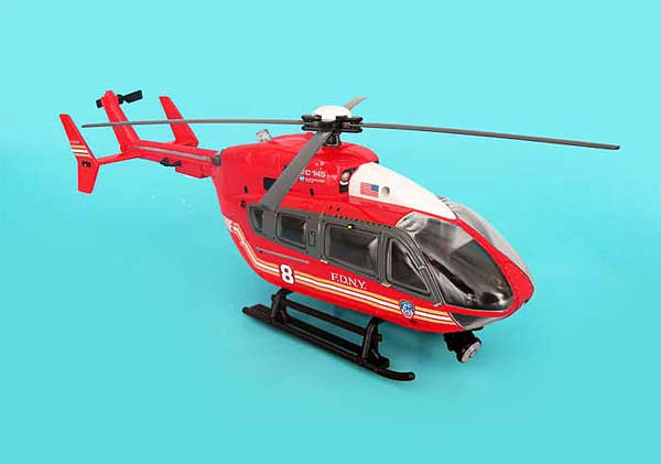 FDNY Helicopter W/LIGHTS & Sound 1/32, Realtoy Item Number RT8700