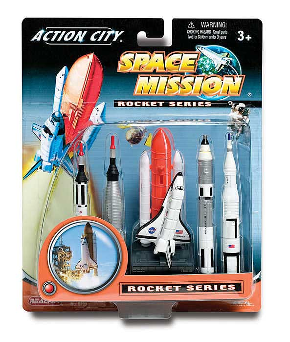 Space Shuttle And Rockets Gift Pack, Realtoy Item Number RT9123