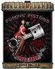 Radiator Pumpin Pistons Vintage Metal Sign, 24 By 32 by Vintage Sign Company item number: LETH178