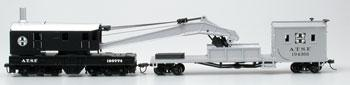 250T Crane & Boom SF (HO), Bachmann Model Trains Item Number BAC16102