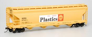 56 Center Flow Hopper Shell SCPX (HO), Bachmann Model Trains Item Number BAC17534