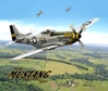 P-51 Classic Flight Mouse Pad