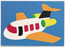 Airplane Crepe Puzzle, Born Aviation Aviation Gifts Item Number PZ-AP
