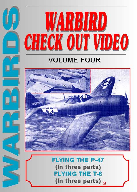 Warbirds Check Out Video, Volume Four, Non-Fiction Video Aviation DVDs Item Number DV536