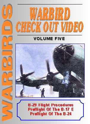Warbirds Check Out Video, Volume Five, Non-Fiction Video Aviation DVDs Item Number DV555
