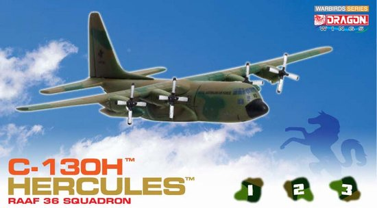 Australian Air Force C-130h (1:400), DragonWings 400 Diecast Airliners Item Number DRW55819