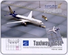 Gulf Traveller 767-300 (1:400) with Ground Set, DragonWings 400 Diecast Airliners Item Number DRW56066