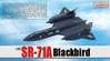 SR-71A Blackbird USAF 9th SRW, 61-7967, Beale AFB, CA (1:400)