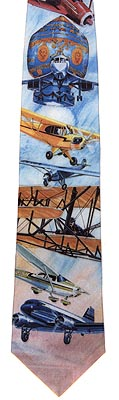 Bicentennial of Flight Necktie, Gift of Wings Item Number GOW901