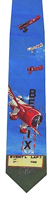 Gee Bee Racers Necktie, Gift of Wings Item Number GOW910