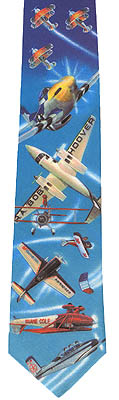 Airshow Performers Neck Tie Necktie, Gift of Wings Item Number GOW914