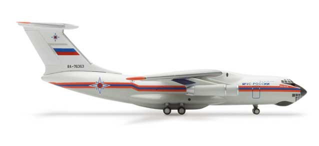 Ministry Of Emergency Situations IL76 (1:500), Herpa 1:500 Scale Diecast Airliners Item Number HE502313
