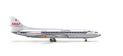 Thai Caravelle (1:500), Herpa 1:500 Scale Diecast Airliners Item Number HE505260