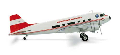 Austrian DC-3 First Austrian DC-3 Club (1:200)