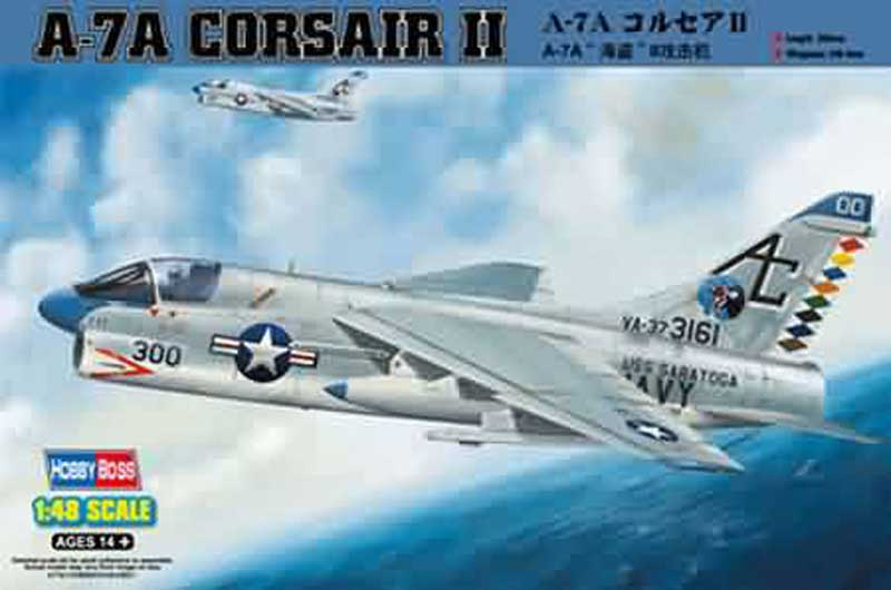 A-7a Corsair Ii (1:48), HobbyBoss Item Number HBB80342