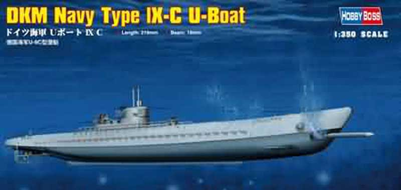 Dkm Navy Type Ix-C U-Boat :350, HobbyBoss Item Number HBB83508