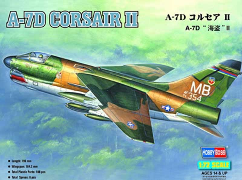 A-7d Corsair Ii (1:72), HobbyBoss Item Number HBB87203