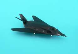 F117A USAF Eglin Afb 37TH Twt Nighhawks Shark Mouth (1:200), Hogan Wings Collectible Airliner Models Item Number HG6511
