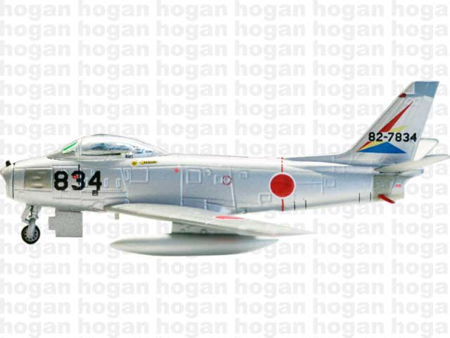 F-86F-40, JASDF, HQ Squadron, Iruma AB (1:200), Hogan Wings Collectible Airliner Models Item Number HG7686