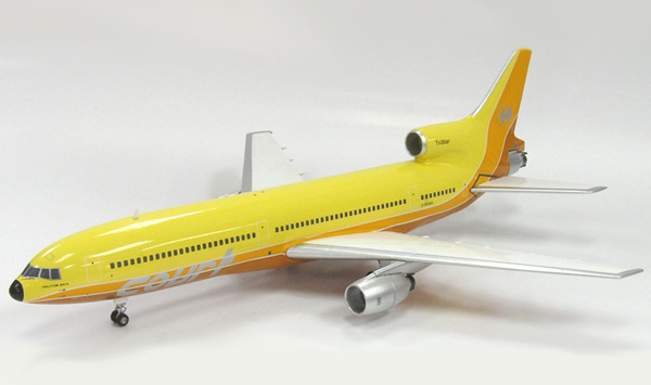 Courtline L1011 TriStar Yellow (1:200), InFlight 200 Scale Diecast Airliners Item Number IF011002