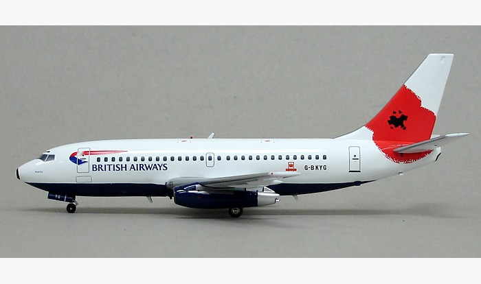 "British Airways 737-200 ""Pause to Remember"" G-BKYG (1:200), InFlight 200 Scale Diecast Airliners Item Number IF7320212B"