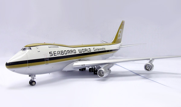 Seaboard World Container 747-200F (1:200), InFlight 200 Scale Diecast Airliners Item Number IF742009