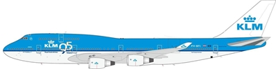 "KLM 747-406M ""95th Anniversary"" PH-BFI, InFlight 200 Scale Diecast Airliners Item Number IF7440415"