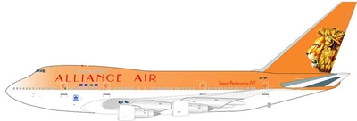 "South African Airways ""Alliance Air"" 747SP-44 ZS-SPA (1:200), InFlight 200 Scale Diecast Airliners Item Number IF747SP0514"