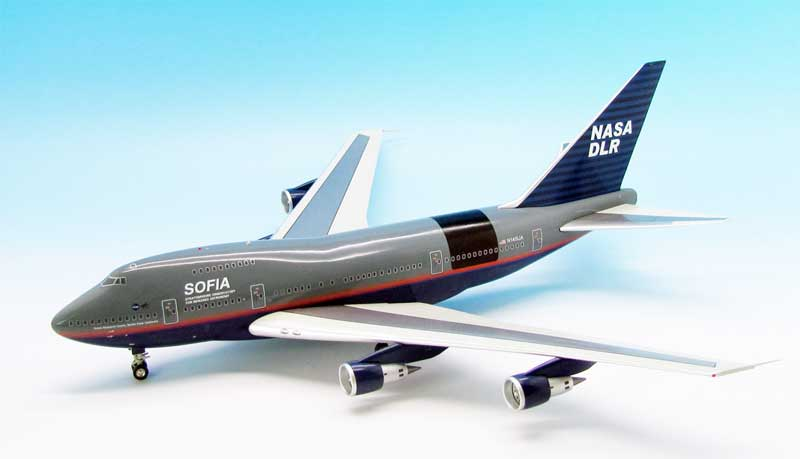 NASA 747P Sofia DLR N145UA (1:200) 1998 Test Flight Livery, InFlight 200 Scale Diecast Airliners Item Number IF747SP145
