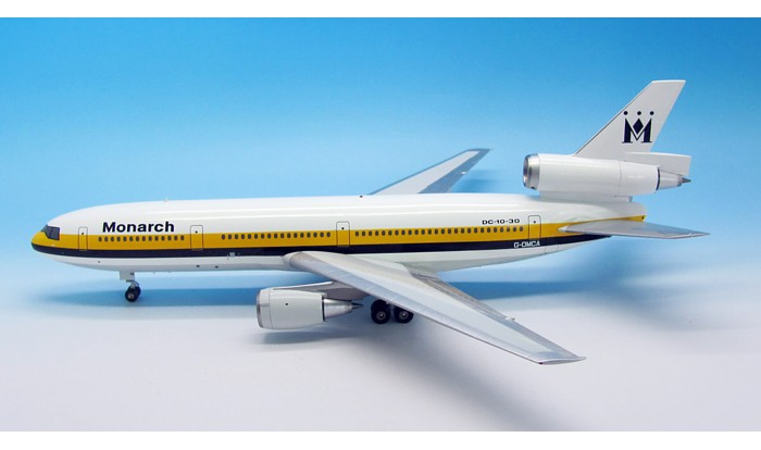 Monarch DC-10-30 G-DMCA (1:200), InFlight 200 Scale Diecast Airliners Item Number IFDC100313