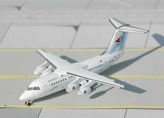 Azzurra BAe-146-200 (1:400) ~ EI-CNI, Jet X 1:400 Diecast Airliners, Item Number JET221A