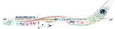 Aeromexico Boeing 787-9 Dreamliner XA-ADL (1:200) by Jet X 1:200 Scale Diecast Item Number VL2019001