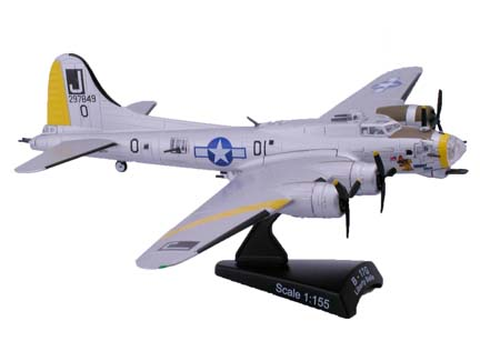 B-17G Liberty Bell (1:155), Model Power Diecast Planes Item Number MP5402-2
